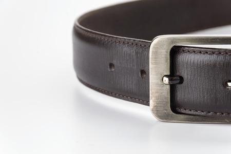 belt isolated on white background Stock Photo - 41990479