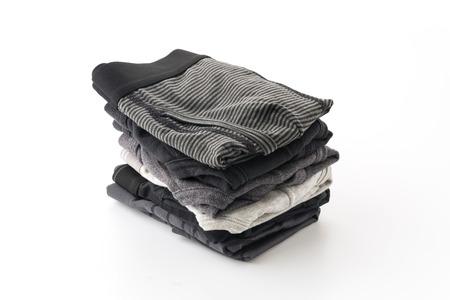 ropa interior: los hombres la ropa interior aislado en el fondo blanco