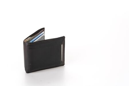 empty wallet: wallet isolated on white background