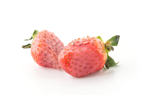 moldy: strawberry be moldy on white