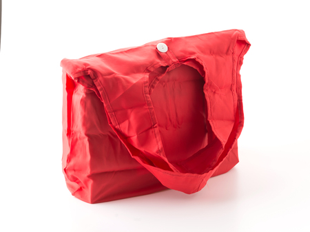 red bag: red bag on white background