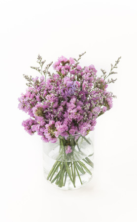 Statice flower bouquet on white background stock photo picture and statice flower bouquet on white background stock photo 44355488 mightylinksfo