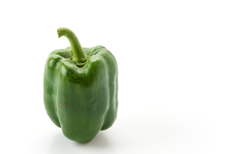 bell peper: sweet peppers on white background Stock Photo