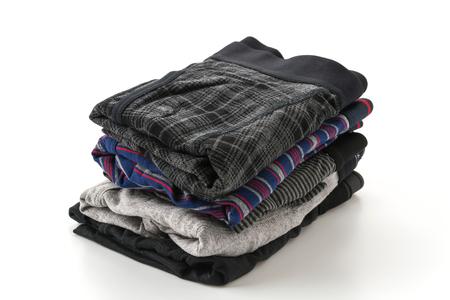 underwear: los hombres la ropa interior sobre fondo blanco
