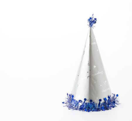 party hat: party hat on white background