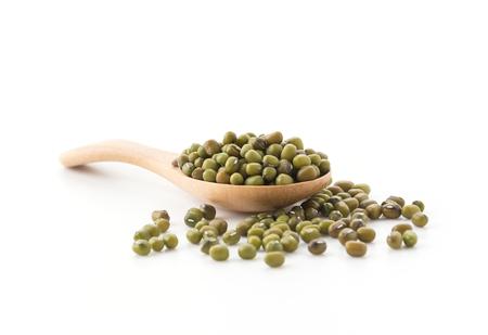 gram: bean gram on white background