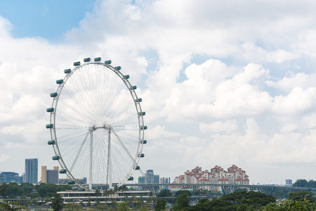 largest: Singapore Flyer - the Largest Ferris Wheel in the World