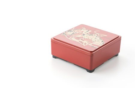 bento box: bento box on white background