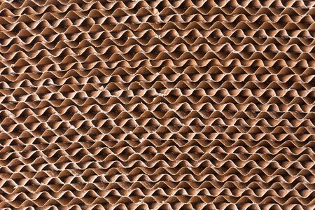 corrugate: Corrugate paper filter pattern for background Stock Photo
