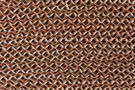 papel filtro: Patr�n de filtro de papel corrugado para el fondo Foto de archivo