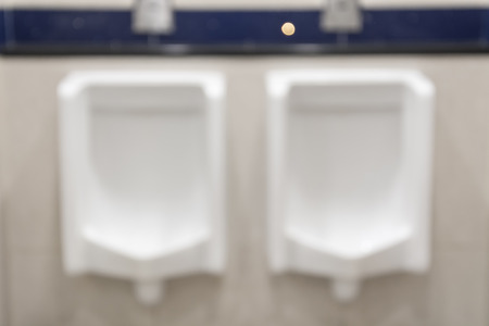 chamber pot: abstract blurred chamber pot in toilet