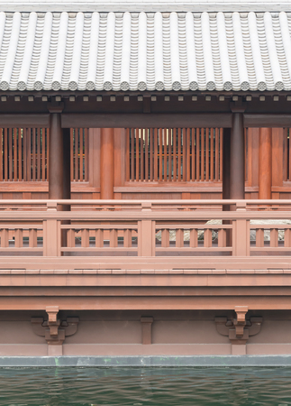 balcony: balcony in japanese style Stock Photo