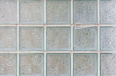 glass block: glass block pattern