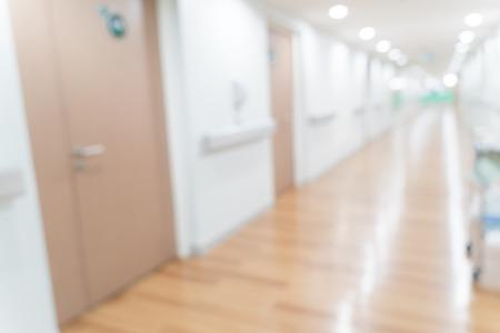 abstracte onscherpte ziekenhuis voor achtergrond