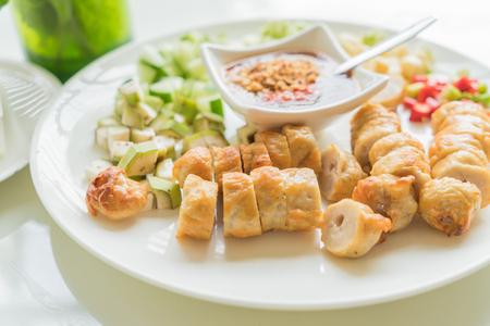 nam: Vietnamese Meatball Wraps (Nam Neung)
