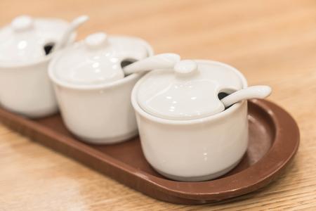 seasoning: cup or bowl of seasoning