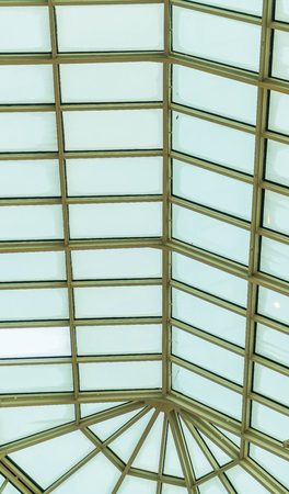 glass panel: modern design building with glass panel roof