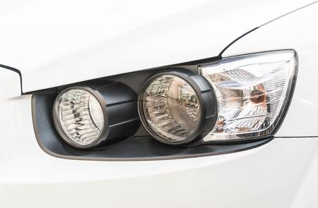 head light: close-up Car Head light