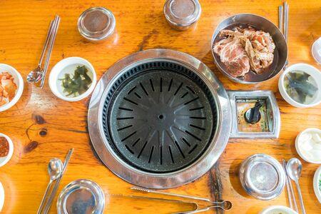 yakiniku: grill pork (yakiniku)- korean style