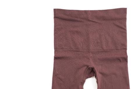 long johns: leggings pants on white background