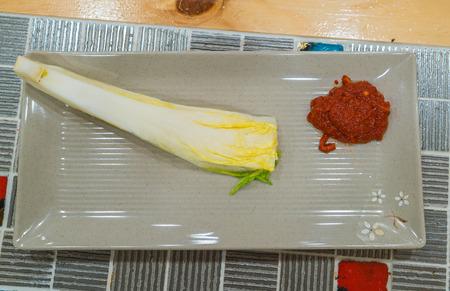 pickle: kimchi ingredient  pickle group - korean food