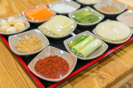 ingredient: kimchi ingredient  pickle group - korean food