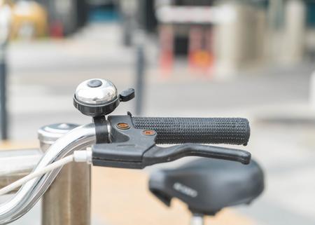 handlebar: Bicycle Handlebar Stock Photo