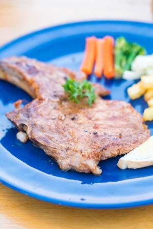 grilled pork chop: grilled pork chop