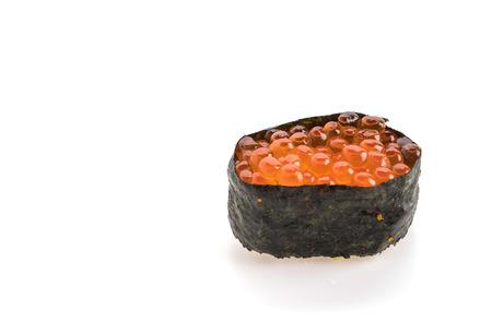 spawn: spawn sushi onwhite background