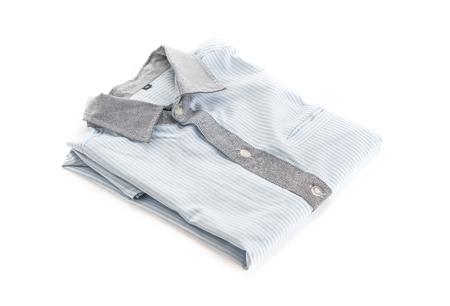 strip shirt: shirt on white background