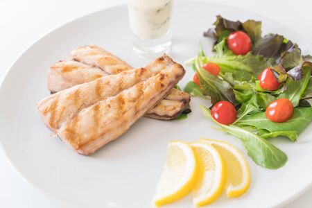 mackerel fish steak