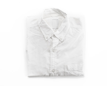 strip shirt: shirt on white background