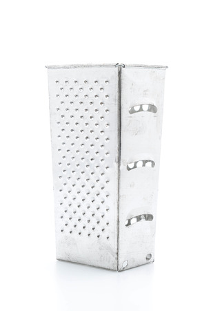 grater: Manual grater on white background