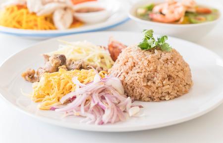 Shrimp-paste fried rice