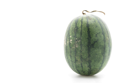 sliced watermelon: fresh watermelon on white background
