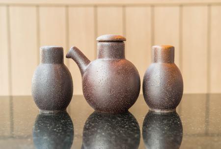 condiment: Condiment Bottle in japanese restaurant