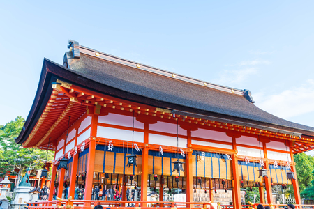 Beautiful Architecture Fushimiinari Taisha ShrineTemple in Kyoto, Japan
