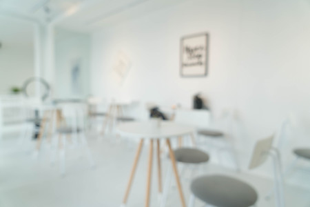 furniture store: abstract blur in restaurant for background Stock Photo