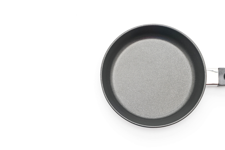 teflon: Frying pan isolated on white background