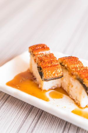 eel sushi (unagi) - japanese food style