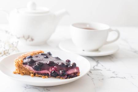 blueberry pie with english tea