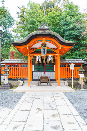 Beautiful Architecture Fushimiinari Taisha ShrineTemple in Kyoto, Japan. Editorial