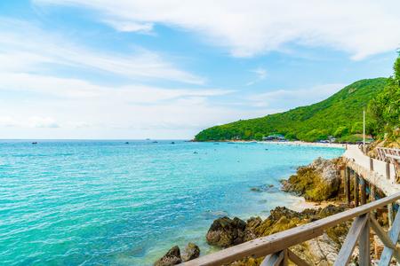 beautiful tropical beach at Koh Larn in Pattaya, Thailand.
