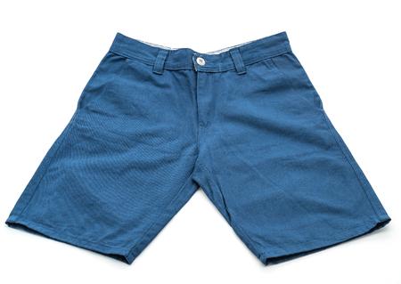 navy blue background: short pant on white background