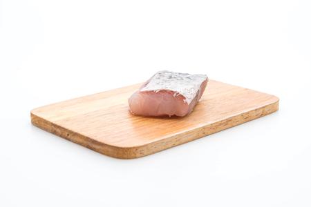 fresh snapper fish isolated on white background Stock Photo