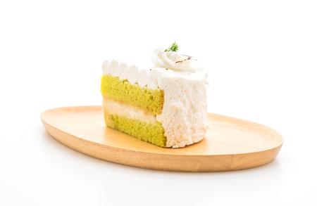 Pandas cake isolated on white background