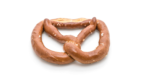 pretzel isolated on white background