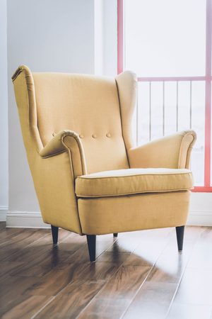 Old Armchair Decoration In Home   Vintage Effect Stock Photo   95740544