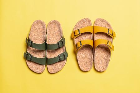 mens and womens (unisex) fashion leather sandals