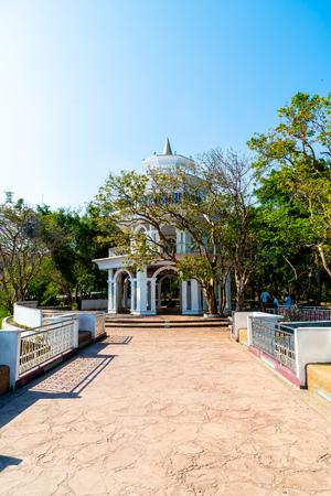 Beautiful architecture at Rang Hill in Phuket, Thailand